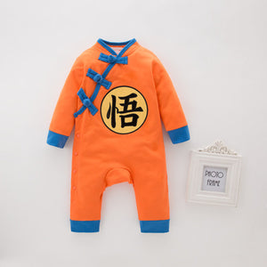 Thick Winter Dragon Ball Children's Jumpsuit
