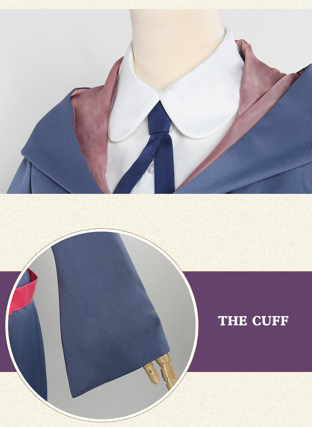 Little Witch Academia Sucy Manbavaran Cosplay Costume