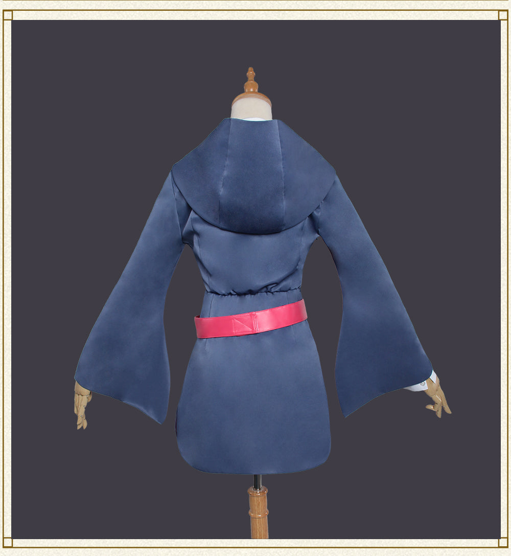 Little Witch Academia Akko Kagari Cosplay Costume
