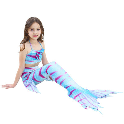 TIGER BLUE Children Mermaid Tail