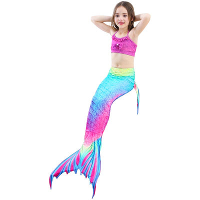 RAINBOW BLISS Children's Mermaid Tail