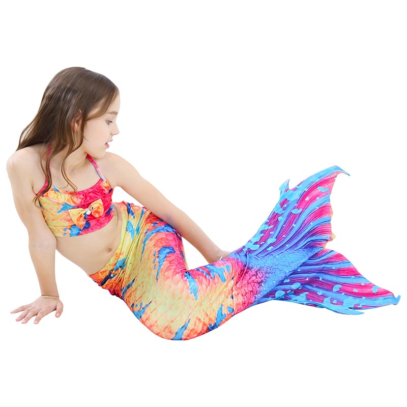 TROPICAL TIGER Children's Mermaid Tail