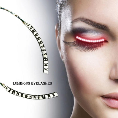 YKS LED Luminous Waterproof Eyelashes