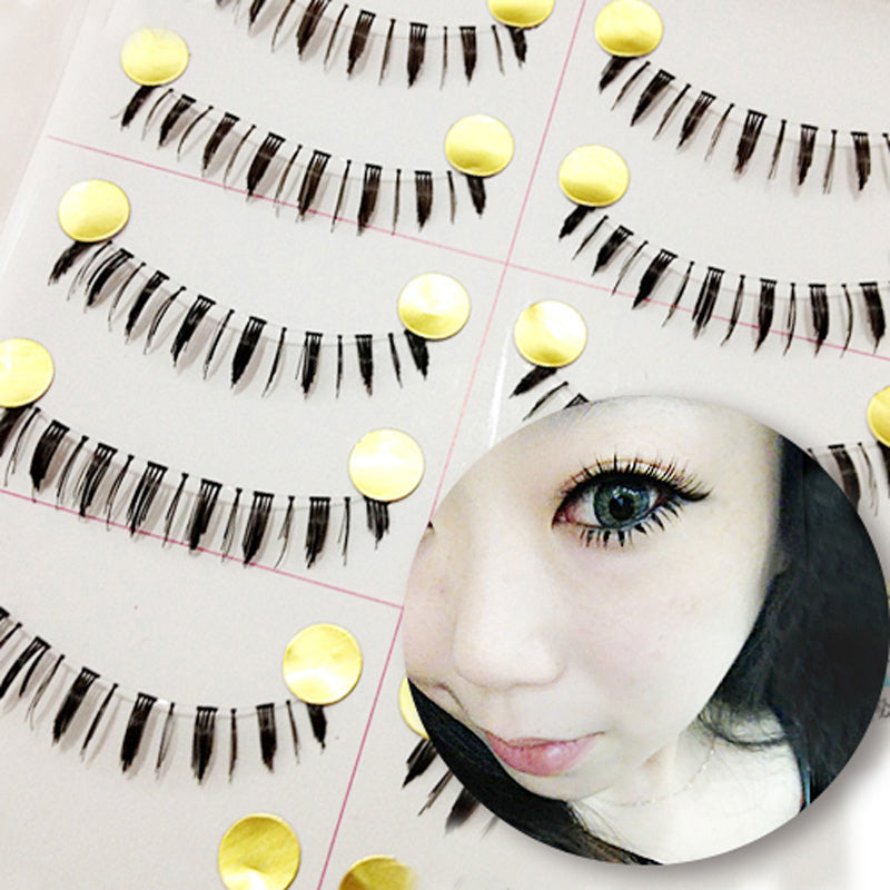 Invisible Band Lower Lashes (20 pairs)