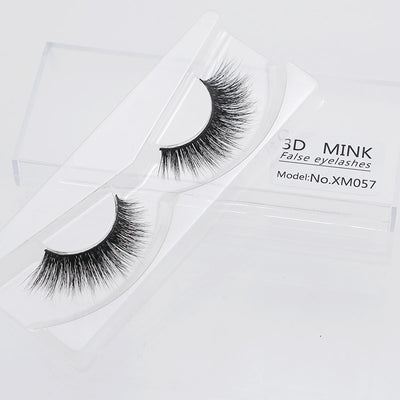 3D Mink Natural Feather Thicc Style Eyelashes