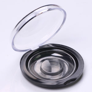 Compact Round Eyelash Storage Case