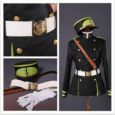 Seraph Of The End Yuichiro Hyakuya Cosplay Costume
