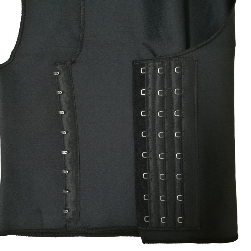 Corset Hook Cropped Top Chest Binder