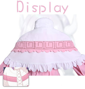 Miss Kobayashi's Dragon Maid Kanna Kamui Cosplay Costume (With Stockings and Wig set)