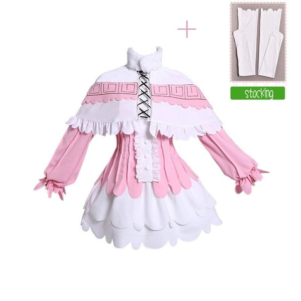 Miss Kobayashi's Dragon Maid Kanna Kamui Cosplay Costume (With Stockings)