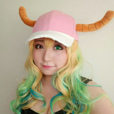 Miss Kobayashi's Dragon Maid Lucoa Cosplay WIg
