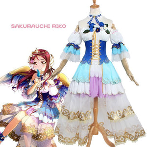 Love Live! Sunshine!! Sakurauchi Riko Cosplay Costume