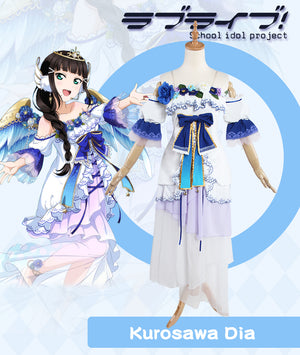 Love Live! Sunshine!! Dia Kurosawa Aqours Angel Awake Cosplay Costume