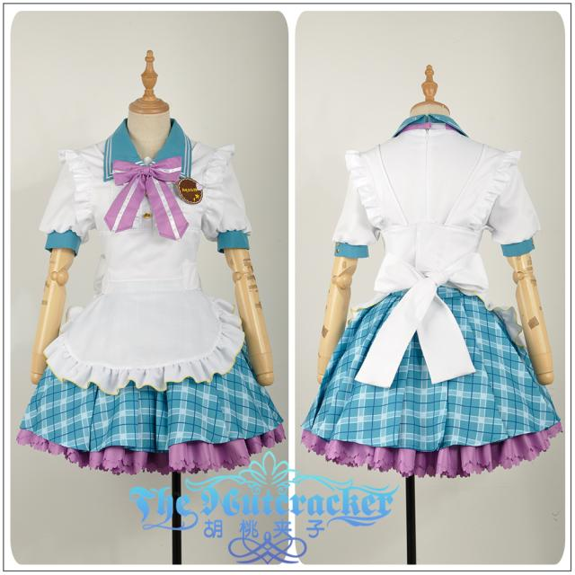 Love live! Sunshine!! Ruby Kurosawa Aqours Valentine's Day Maid Dress Cosplay costume