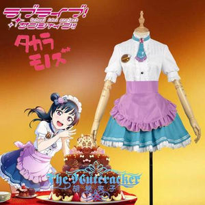 Love live! Sunshine!! Yoshiko Tsushima Aqours Valentine's Day Maid Dress