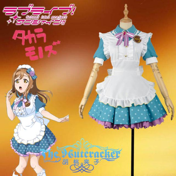 Love live! Sunshine!! Hanamaru Kunikida Aqours Valentine's Day Maid Dress