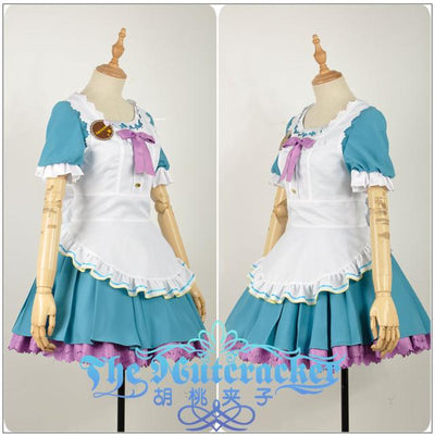 Love live! Sunshine!! Chika Takami Aqours Valentine's Day Maid Dress Cosplay Costume