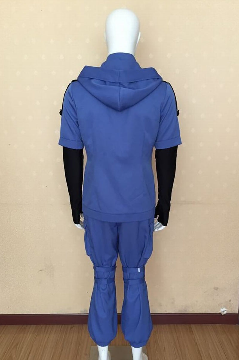 Assassination Classroom Shiota Nagisa Blue Battle Suit Cosplay Costume
