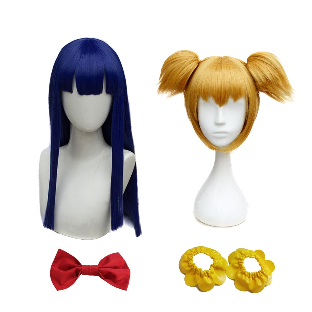 POP TEAM EPIC Popuko Pipimi Cosplay Wigs