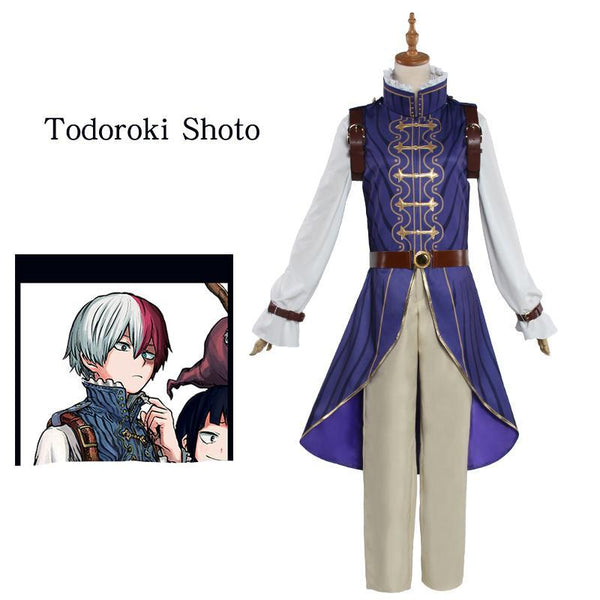 My Hero Academia Shoto Todoroki Prince Cosplay Costume