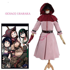 My Hero Academia Ochaco Uraraka Cosplay Costume Fantasy Version