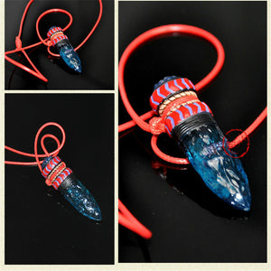 Princess Mononoke Wolf Fang Amulet Necklace