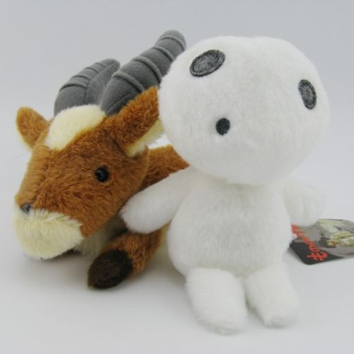 Princess Mononoke yakkul Kodama Soft Plush toys (2 set)
