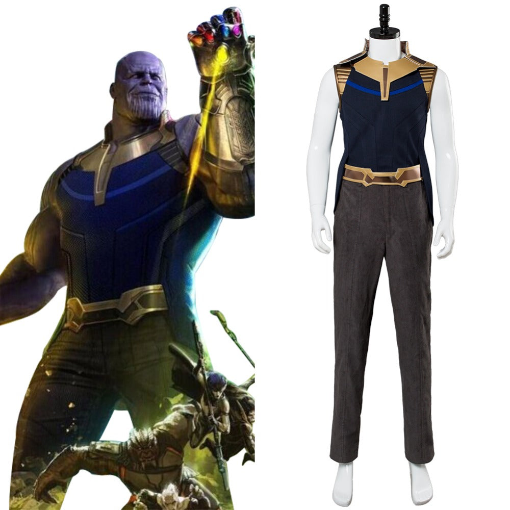 Avengers Infinity War Thanos Cosplay Costume