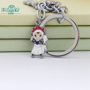 Food Wars! Shokugeki no Soma Alloy Charm Keychain