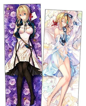 Violet Evergarden Body Pillow / Violet Evergarden Dakimakura Waifu Hugging Pillow (Includes Insert Pillow)