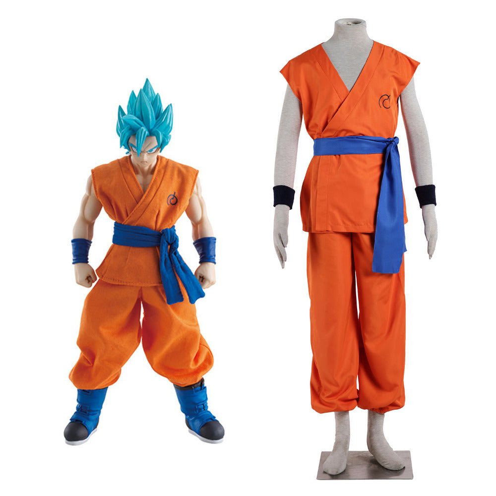 Dragon Ball Super Super Saiyan God Goku Costume