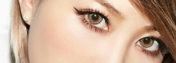 Dark Brown QT Brand Circle Lens Contacts