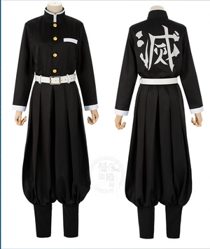Demon Slayer Flame Pillar Kyoguro Rengoku Cosplay Costume
