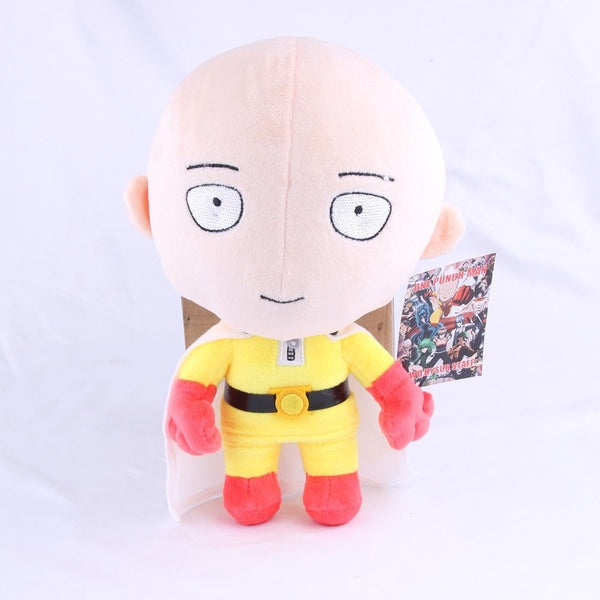One Punch Man Saitama Plush Doll