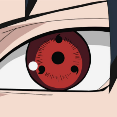 Eos Fancy Lens Naruto-1  (3-tomoe Sharingan)