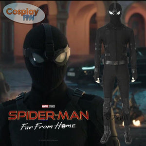 Spider-Man: Far From Home Cosplay Costume / Spider-Man Cosplay Costume Full Set L