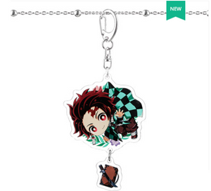 Demon Slayer Acrylic Character Keychains