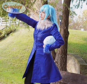 That Time I Got Reincarnated As A Slime Rimiru Cosplay Costume /