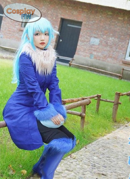 That Time I Got Reincarnated As A Slime Rimiru Cosplay Costume / L