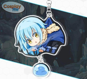 That Time I Got Reincarnated As A Slime Rimiru Keychain / Anime Acrylic 13Cm