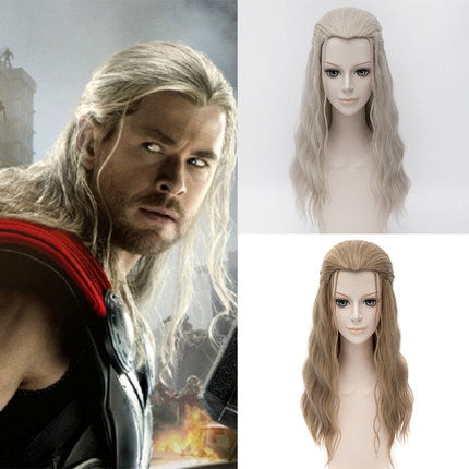 60cm Thor Avengers Cosplay Wig