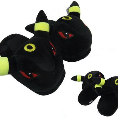 Pokemon Umbreon Plush Slippers - Umbreon Slippers