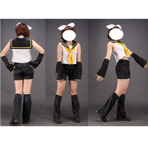 Vocaloid Kagamine Rin Cosplay Costume