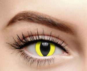 Urban Layer Yellow Cat Eye Lenses (1 PAIR)
