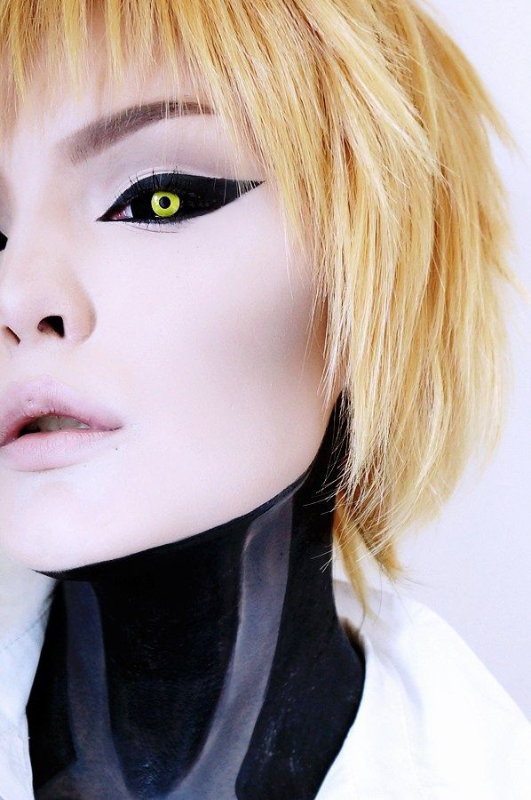22mm Yellow Ghoul Sclera Lenses
