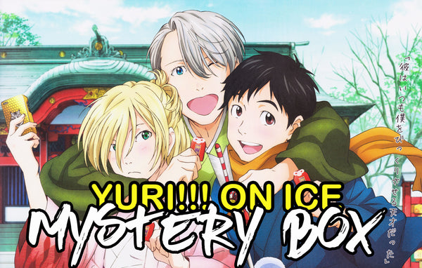 Yuri!!! On Ice Anime Mystery Box | Anime Mystery Box | Fast Shipping (Limited Quantities)