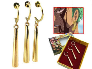 One Piece Anime Zoro Earrings