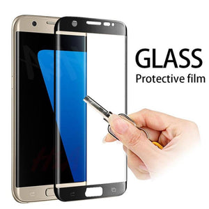 3D Curved Edge Tempered Glass on the For Samsung Galaxy S7 S6 Edge Screen Protector For Samsung S6 S7 Protective Glass Film