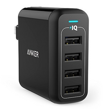 Load image into Gallery viewer, Brand New Anker 40W 4-Port USB Wall Charger