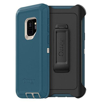 OtterBox Defender Series Case for Samsung Galaxy S9 - Frustration Free Packaging - Big SUR (Pale Beige/Corsair)